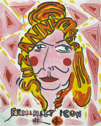 Feminist Icon 4 by Bob and Roberta Smith at Paupers Press (IFPDA)