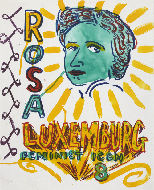 Feminist Icon 8 by Bob and Roberta Smith