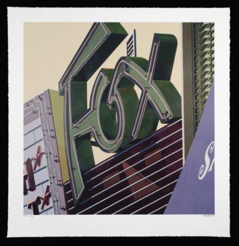 Fox by Robert Cottingham