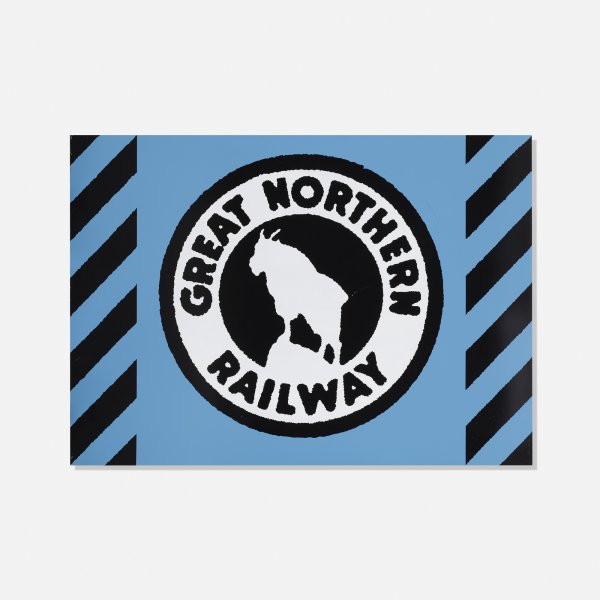 Great Northern Railway by Robert Cottingham