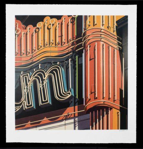 M by Robert Cottingham