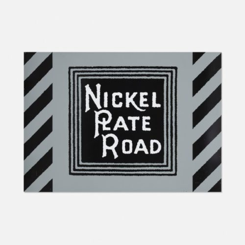 Nickel Plate Road by Robert Cottingham
