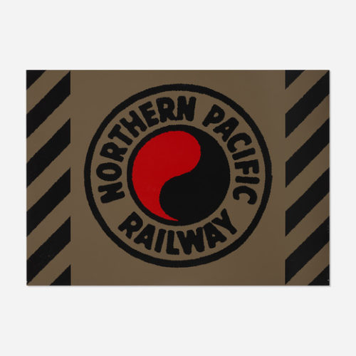 Northern Pacific Railway by Robert Cottingham