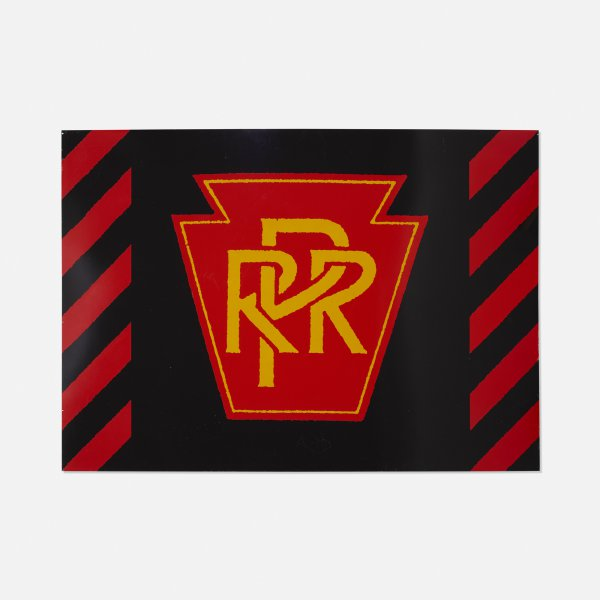 Rpr Railroad by Robert Cottingham