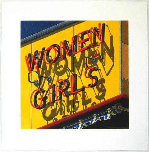 Women-girls by Robert Cottingham