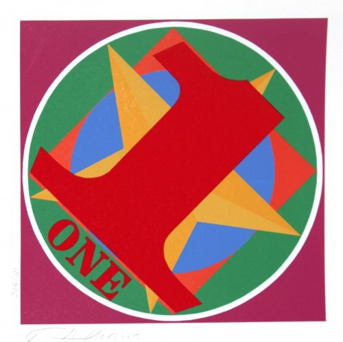 American Dream One by Robert Indiana