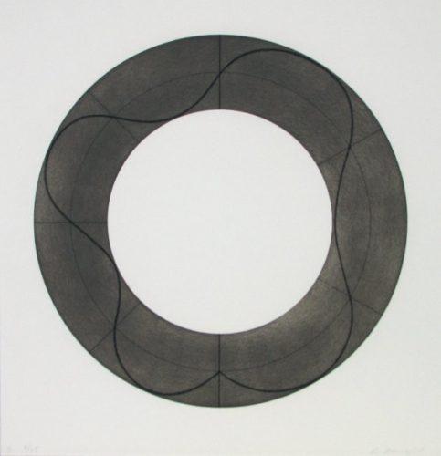 Ring Image B by Robert Mangold
