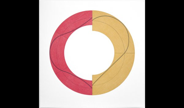 Split Ring C by Robert Mangold