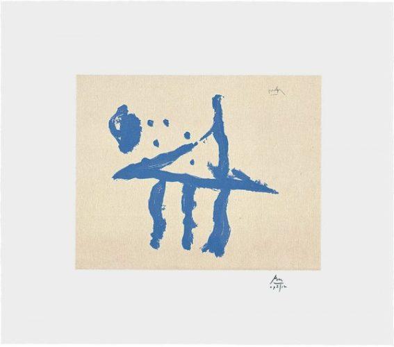 Summer Trident by Robert Motherwell at Robert Motherwell