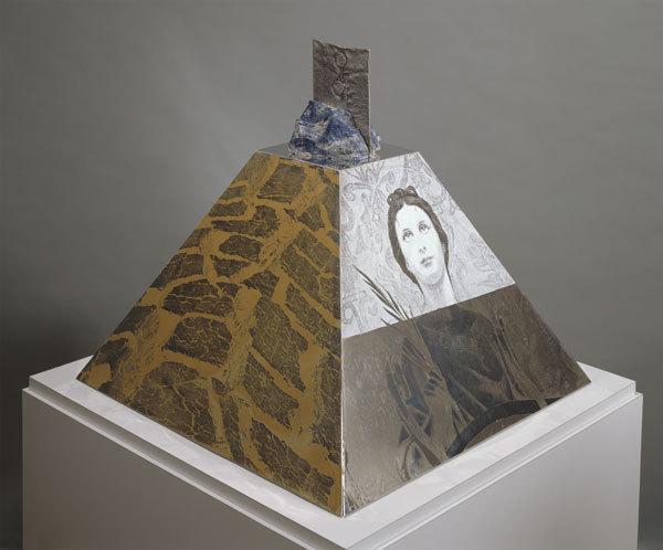 Araucan Mastaba/roci Chile by Robert Rauschenberg