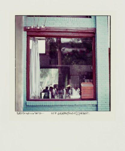 Blue Window by Robert Rauschenberg