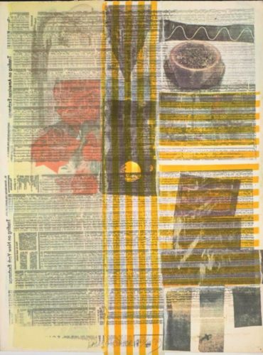 One More And We Will Be More Than Halfway There by Robert Rauschenberg