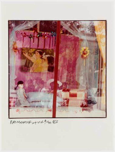 Pink Window by Robert Rauschenberg