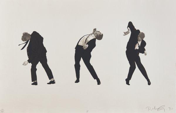 Men In The Cities (i) by Robert Longo