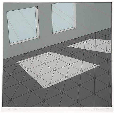 Dual Windows by Ronald Davis at