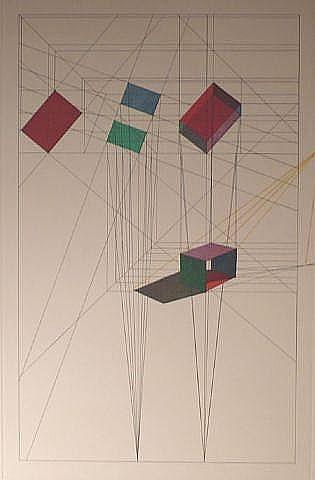 Rotation-tilt by Ronald Davis at