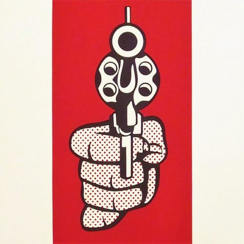 Pistol by Roy Lichtenstein