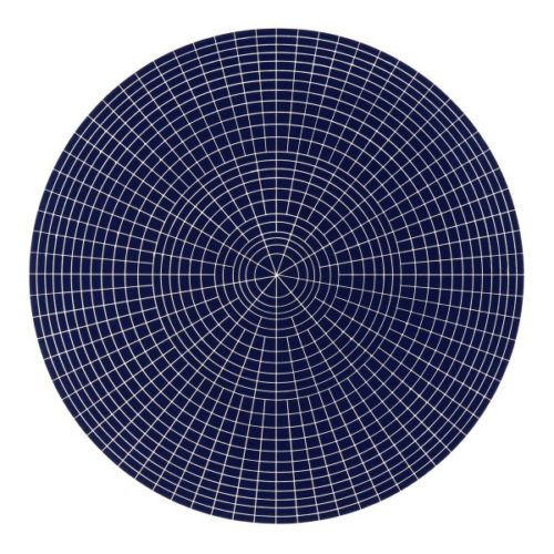 Array 1000/dark Blue by Rupert Deese