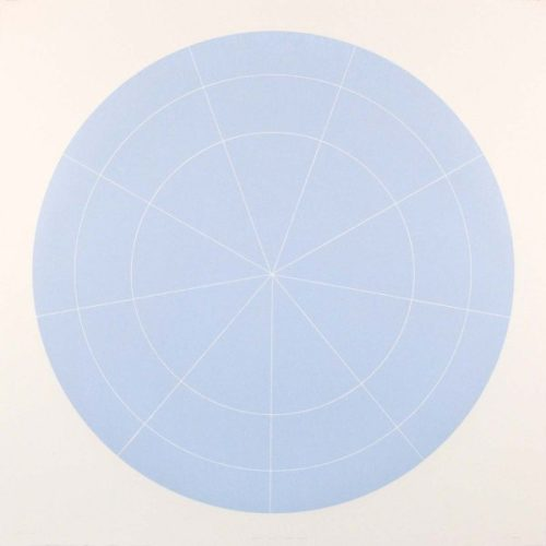 Array 1000/pale Blue by Rupert Deese