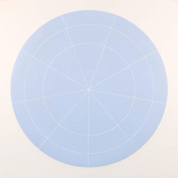 Array 1000/pale Blue by Rupert Deese