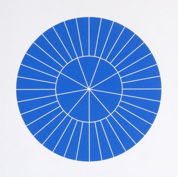 Array 350/blue by Rupert Deese