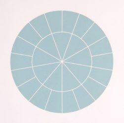 Array 350/blue Green by Rupert Deese at