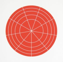 Array 350/red by Rupert Deese at