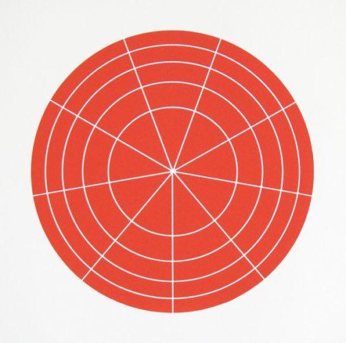 Array 350/red by Rupert Deese