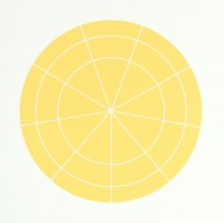 Array 350/yellow by Rupert Deese at