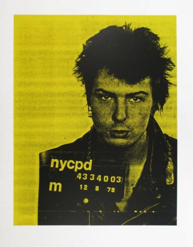 Sid Vicious by Russell Young