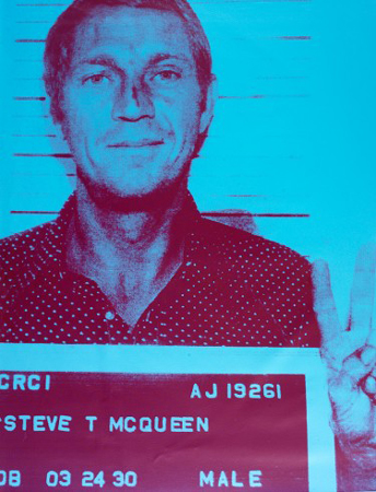 Steve Mcqueen by Russell Young at