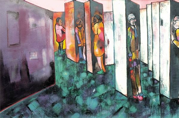 Isolated Figure Ii by Sacha Jafri