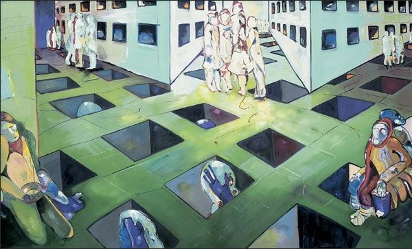 Kafta's Waiting Room by Sacha Jafri