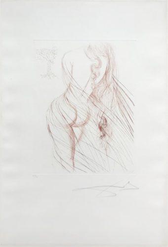 Nu Sanguine by Salvador Dali at