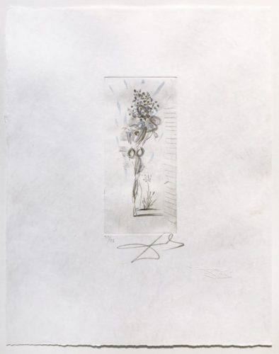 Petits Nus D'apollinaire by Salvador Dali