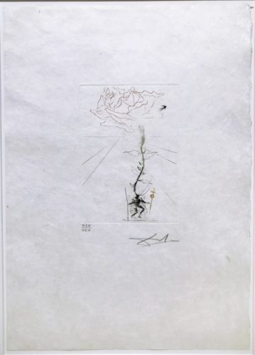 Richard Iii by Salvador Dali