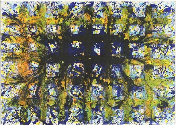 Untitled (sf 310) by Sam Francis at Michael Lisi/Contemporary Art