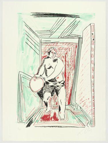 Painter's Dance by Sandro Chia
