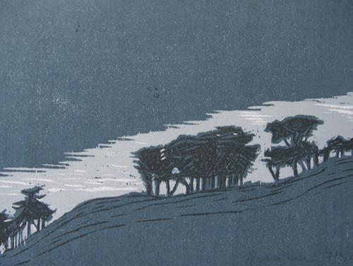 Peninsula Trees by Sara Lee at