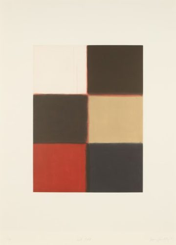 Red Fold by Sean Scully at
