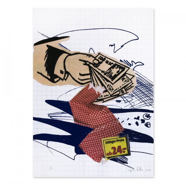 Bargeld Lacht (cash Is Laughing) by Sigmar Polke