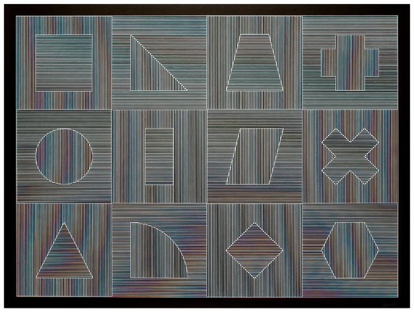 The Four Sides Of The Tower… by Sol LeWitt