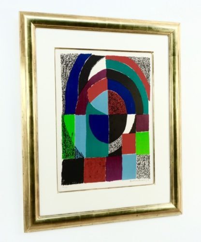 Cathedrale by Sonia Delaunay