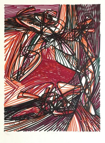 Children Of Niobe by Stanley William Hayter at ModernPrints.co.uk