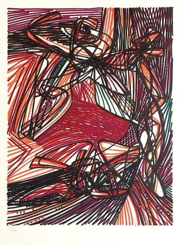 Children Of Niobe by Stanley William Hayter