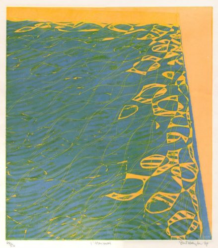 L'harmas by Stanley William Hayter at