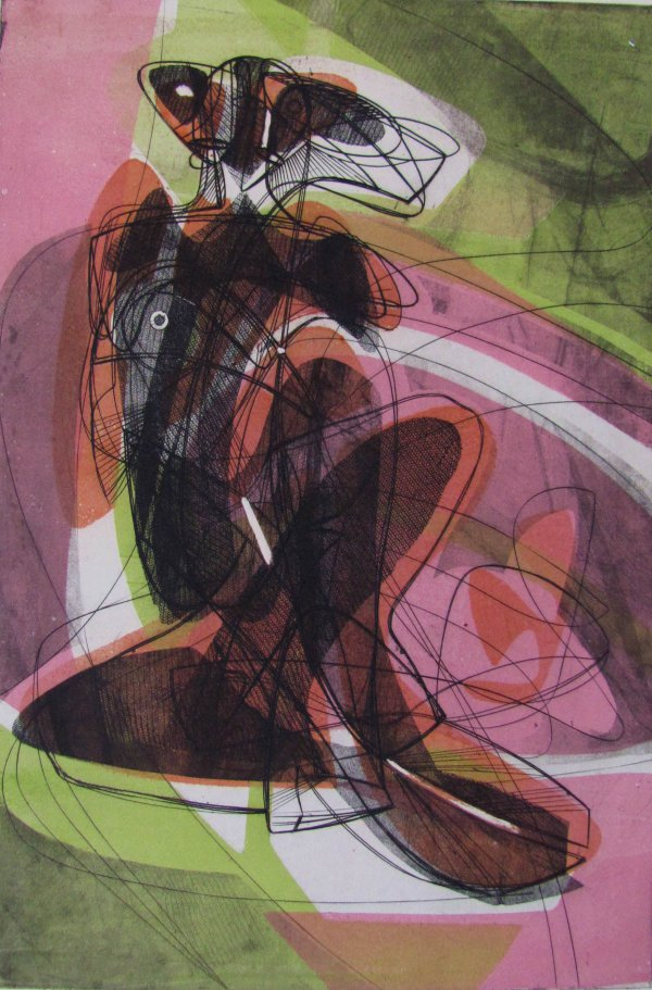Le Couple by Stanley William Hayter