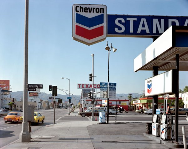 Beverly Boulevard, Los Angeles, California, June 21, 1975 by Stephen Shore at