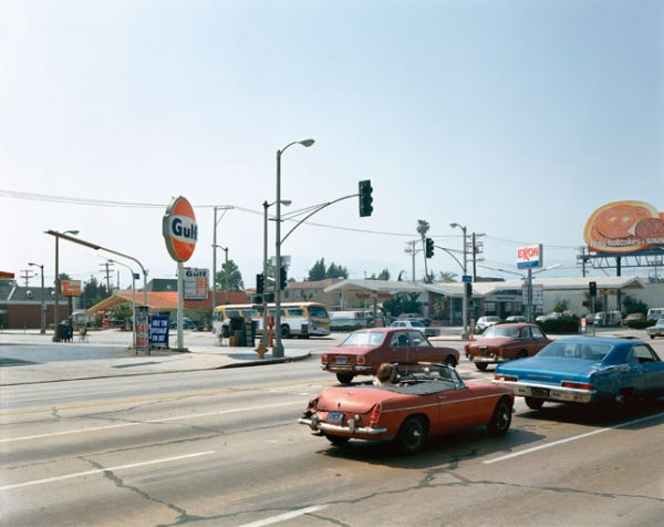 La Brea Avenue, Los Angeles, California, June 21, 1975 by Stephen Shore at