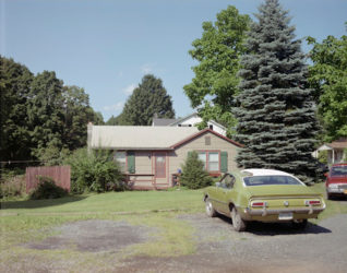 """Untitled, From """"the Hudson Valley"""" by Stephen Shore at Vogtle Contemporary"""